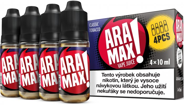 -liquid-aramax-4pack-classic-tobacco-4x10ml12mg